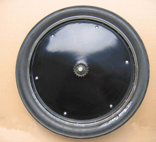Wheel Cover, 26 inch., black