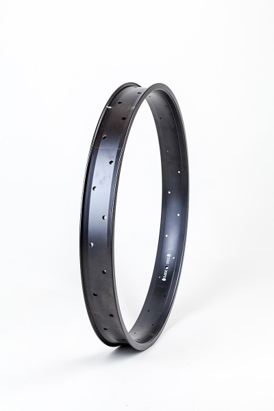 Alu rim 24 inch 67 mm, black, 32 holes double wall