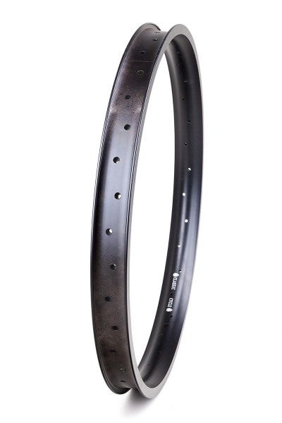 Alu rim 24 inch 46mm 32 holes black matte 2nd. choice
