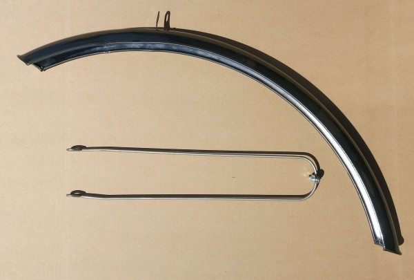 Fender Front 28 inch (635 mm rim diameter) silvergrey