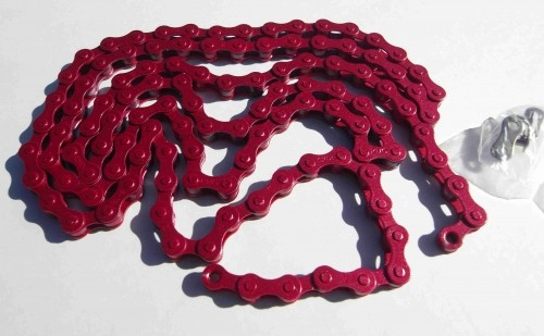 Chain 1/2 x 1/8 red