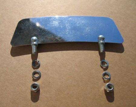 Stainless Steel Fender Slide cornered