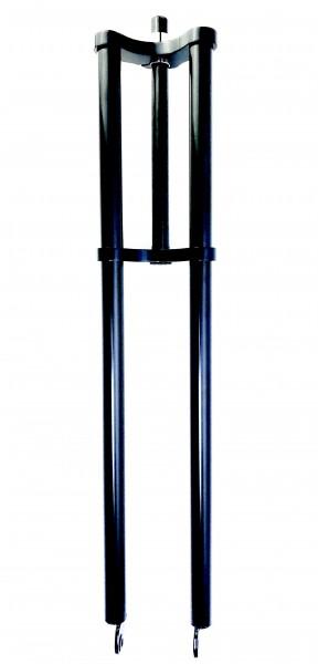 Double Crown Fork long shaft, offset 84, black