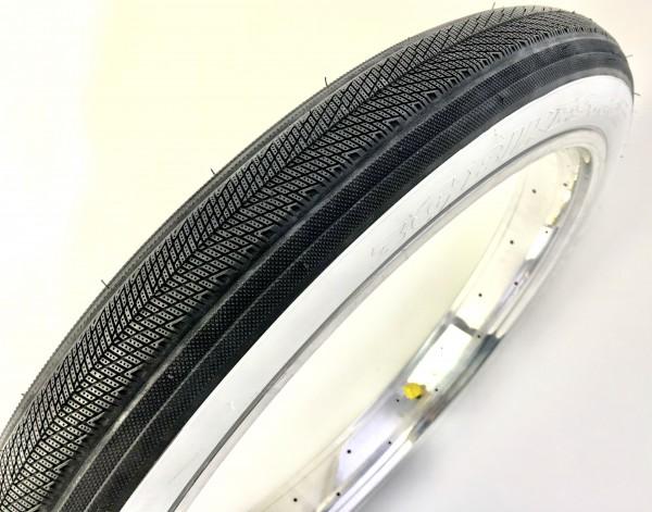 Tire 3G BOA-G Semislick 26 x 3.45, black WHITEWALL