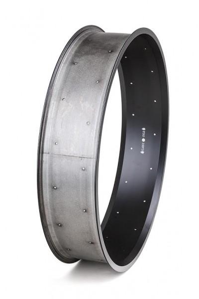 Alu rim 26 inch 132 mm black matte