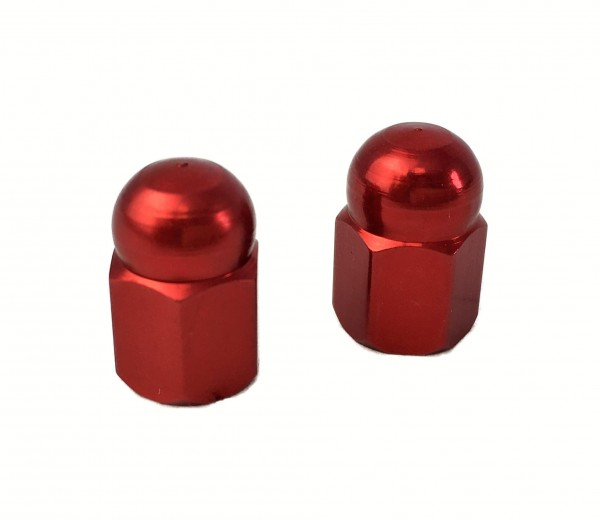 Valve Caps Cap / Domed Nut, red
