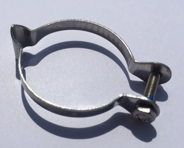 Cable clamps stainless steel for 31.8