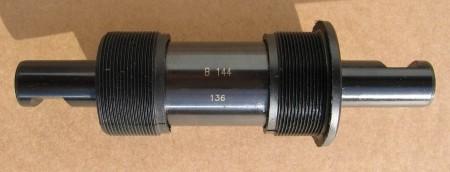 Bottom Bracket Cartridge for Cotterpins 136 mm, BSA,