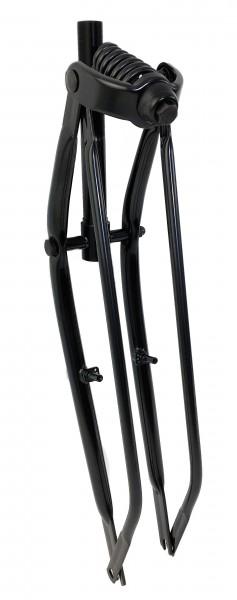 Springer Fork 26 inch. for Cantilevers/V-Brakes, black