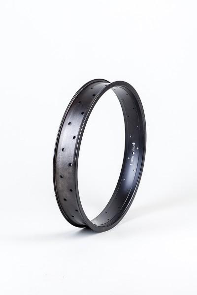 Alu rim 20 inch 67 mm black matte, 32 holes double wall