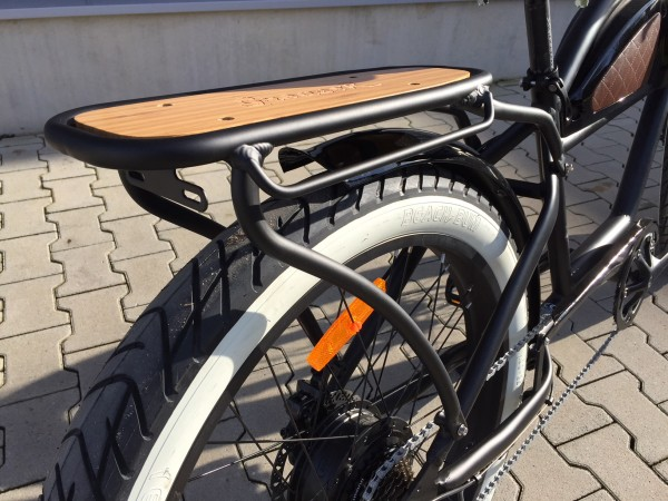 Greaser luggage carrier / pannier rack