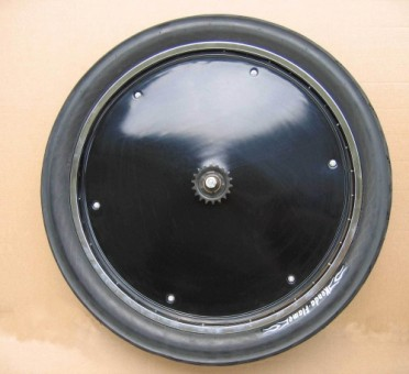 Wheel Cover, 20 inch. black