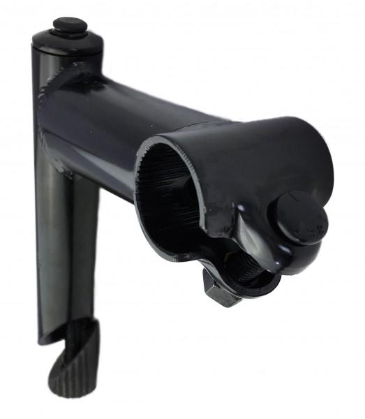 Stem 25,4 - 25,4 Steel Black Humpert Ergotec CV 100