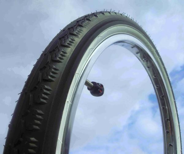 Whitewall Balloon Tire Kenda 20 x 2.125
