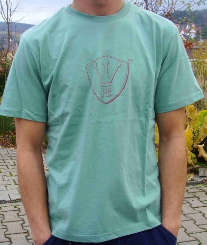 "T-Shirt ""PG"", green"