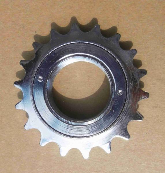 Freewheel Sprocket 19 T Chrome