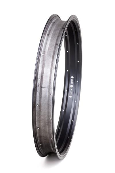 Alu rim 20 inch 57 mm black matte