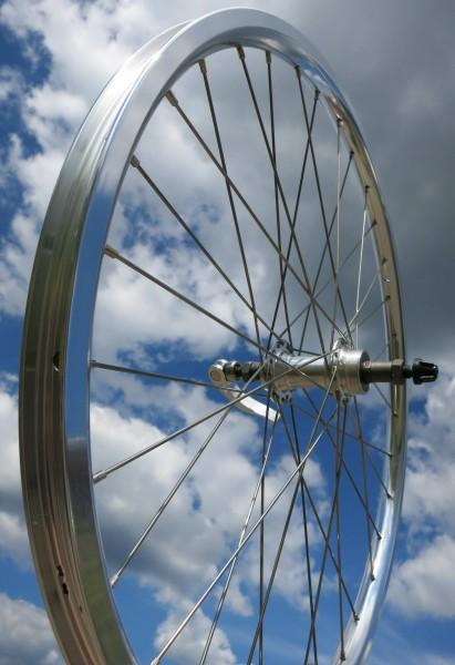 Rearwheel Electra Townie 21 Bady Blue, 24 inch. Alu silver 7 Speed Casette