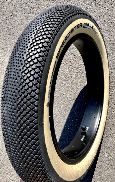 Vee Rubber Speedster Skinwall Tire 20 x 4 inch