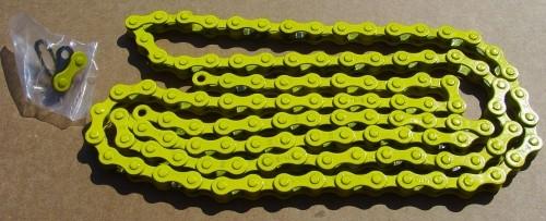 Chain 1/2 x 1/8 yellow