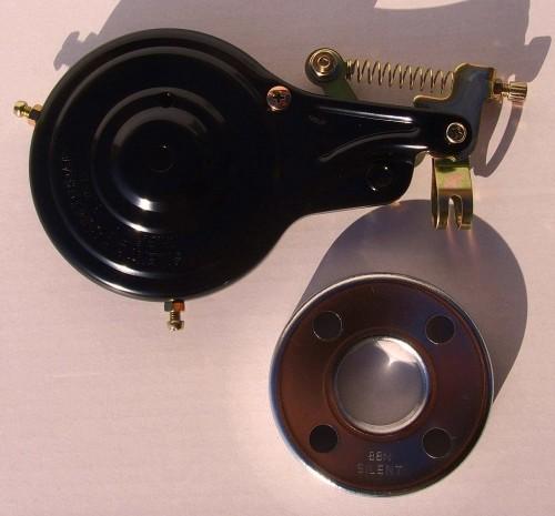Rear Wheel Band Brake, black