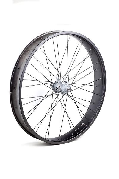 26 inch 82 mm black matte Rear Wheel with 3-speed Coaster Hub