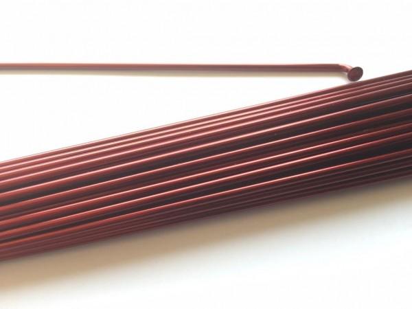 Spoke 2.0 x 216 burgundy metallic