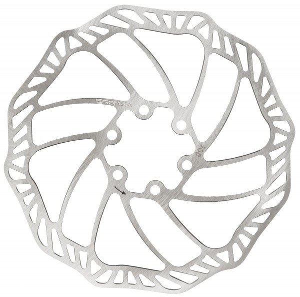 Brake Disc Rotor 160 mm with fixing screws