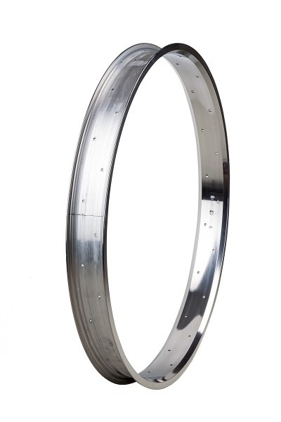 Alu rim 28 inch 67 mm high polished