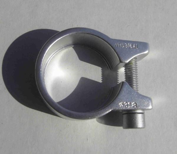 Seat Post Clamp, 31.8 mm, Aluminium