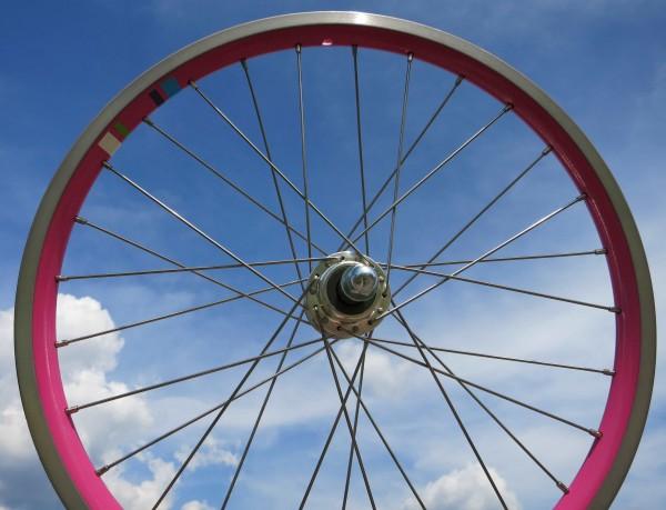 Rear Wheel Electra Electra Townie 7 D 20 inch. PINK Cassette