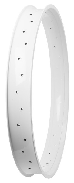 Alu Rim 80, 28 inch., 80 mm, White