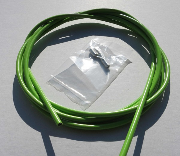Outer Cable Housing Light Green 2,50 m 5 mm