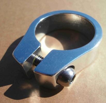 Seat Post Clamp 34.9 mm Aluminium