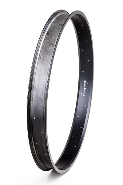 Alu rim 28 inch 67 mm black matte