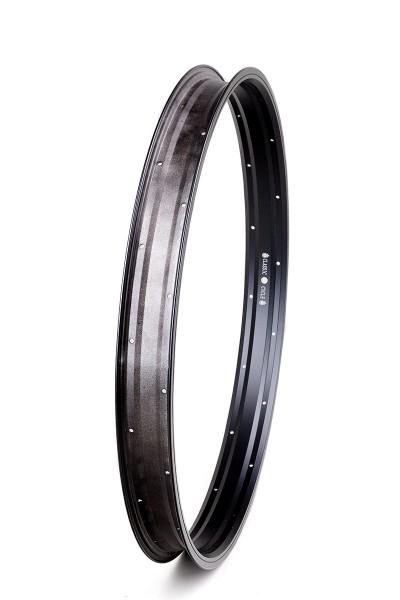 Alu rim 26 inch 57 mm black matte