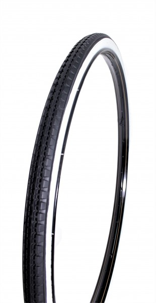 Tires Classic Cycle Black with white wall 28 x 1 1/2 40 x 635