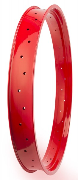 Alu Rim 80, 28 inch., 80 mm, high Red