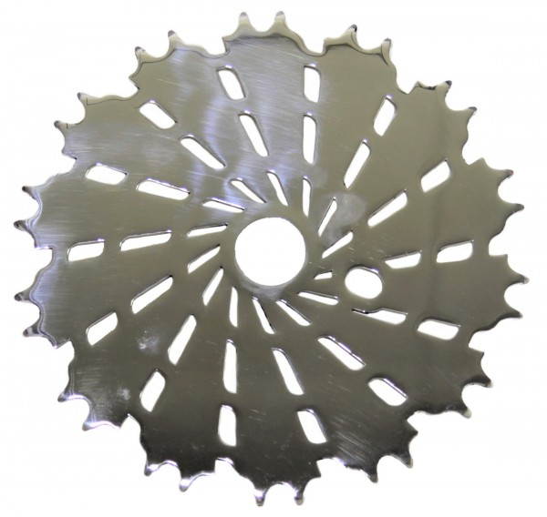 KGW Kahaki chainring polished stainless 45