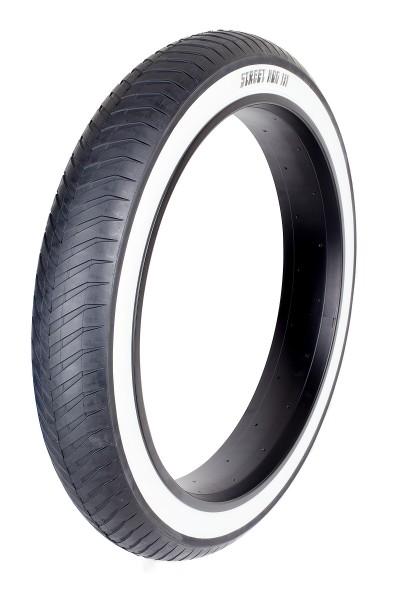 Whitewall Tire Street Hog III 24 x 4 1/4 inch