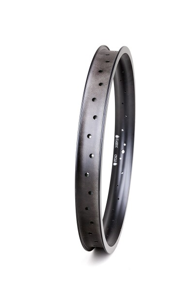 Alu rim 20 inch 46 mm 32 holes black matte