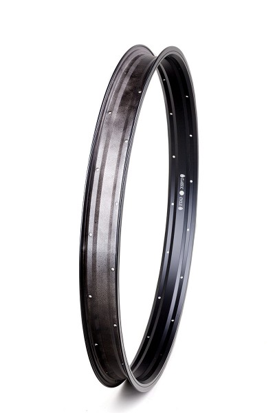 Alu rim 26 inch 57 mm 32 holes black matte