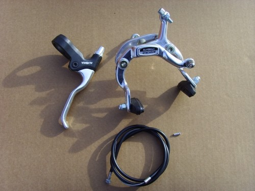 Side Pull Caliper Front Brake Alu