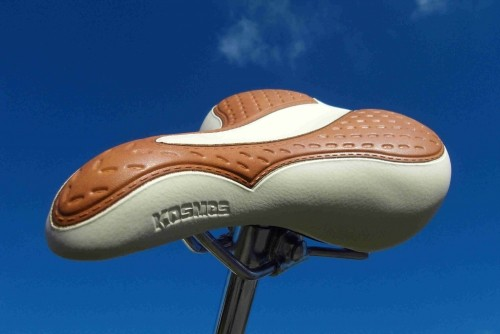 Touring Saddle 2008 vintage look bicolor