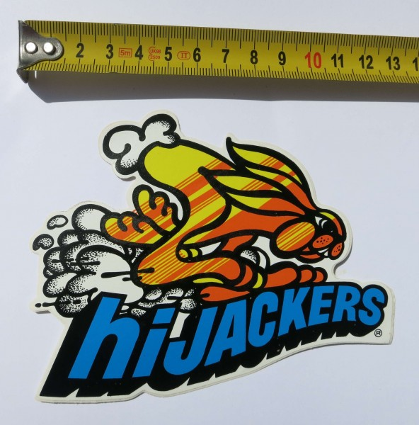 Original Hi Jackers Sticker from the early 70s