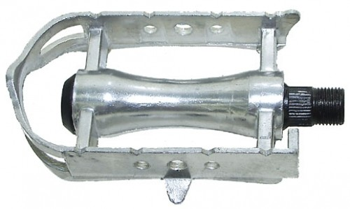 Aluminium Sport Pedals, silver, 9/16