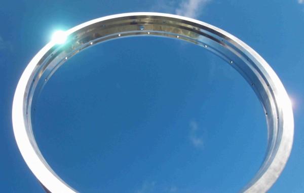 Alu Rim 20 inch., 56 mm, silver polished