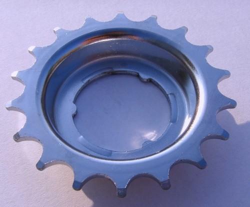 Dished Sprocket 10 mm offset 18 T