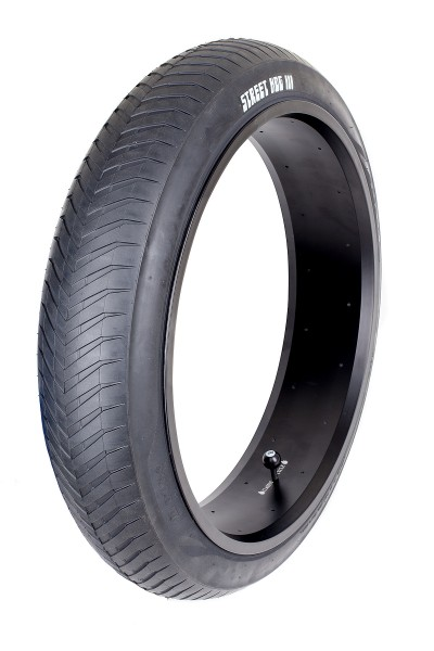 Street Hog III Monster Tire 24 x 4 1/4 inch pure black