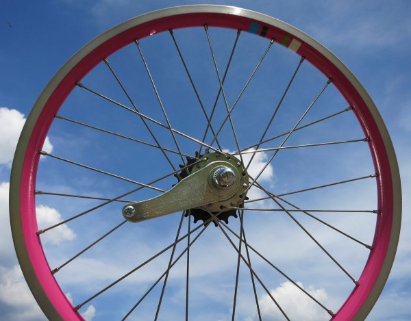 Rear Wheel Electra Electra Townie 1 20 inch. Pink Coaster Hub